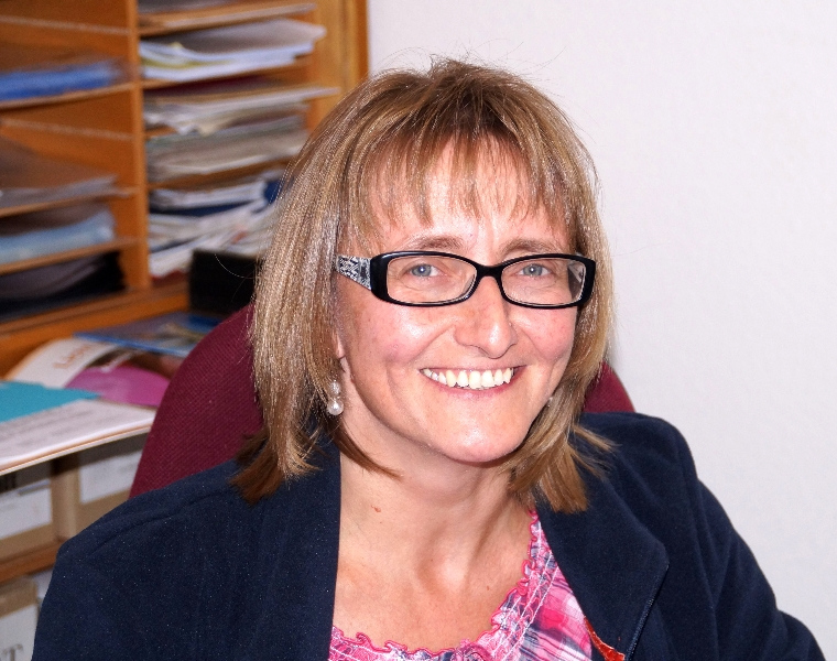 Pfarramtssekretärin Sonja Kimmich